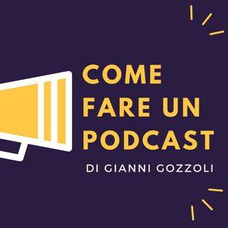 Come Fare Un Podcast - R. Pasini (grafica)