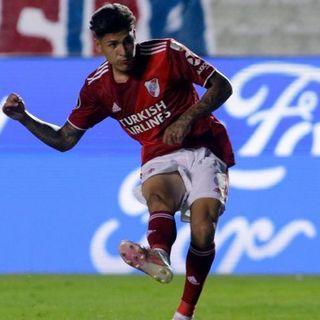 Gol de River: Jorge Carrascal 0-1
