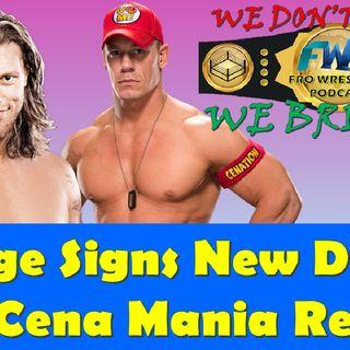 Edge Signs New Deal - John Cena at Mania