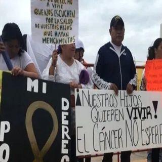 Padres de niños con cáncer reiteran que no hay medicamentos