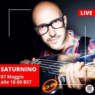 Saturnino: Tra stelle e pianeti, futuro della musica e live session in diretta