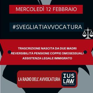TRASCRIZIONE NASCITA DA DUE MADRI – REVERSIBILITÀ PENSIONE COPPIE OMOSESSUALI – ASSISTENZA LEGALE IMMIGRATO – #SVEGLIATIAVVOCATURA
