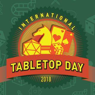 International Table Top Day with Professor Scott Nicholson