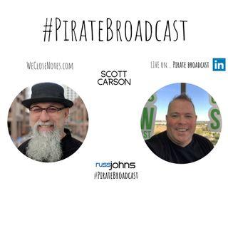 Catch Scott Carson on the PirateBroadcast