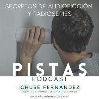 """PODCAST PISTAS_001_El """"Punto Aqui"""" en una escena de ficción sonora."""