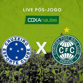 Pós-jogo Cruzeiro 0 x 0 Coritiba