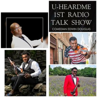 Uheardme 1ST RADIO TALK SHOW - Richmond Punch - Violinist