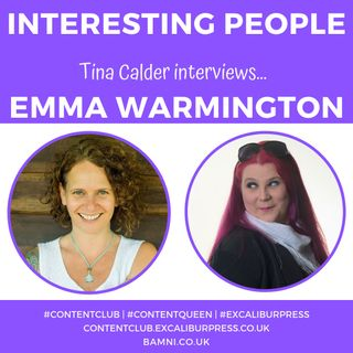 Tina Calder interviews Transformational Voice Work Guide & Yoga Teacher Trainer Emma Warmington | #ContentQueen #TinaCalder