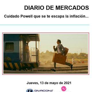 DIARIO DE MERCADOS Jueves 13 Mayo