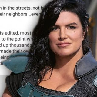 The Mandalorian Star Gina Carano Fired Amid Social Media Controversy