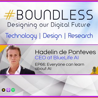 EP66: Hadelin de Ponteves, CEO at BlueLife AI: Everyone can learn about AI