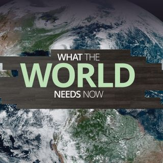 What The World Needs Now- Solid Rock