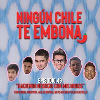 """Ep 49 """"Haciendo negocio con mis nudes"""" con Daniel Montoya, Alejo Ospina, Beto Aceves y Alex Castillo"""