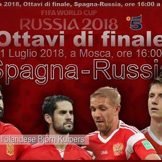 Spagna-Russia Ottavi di Finale LIVE