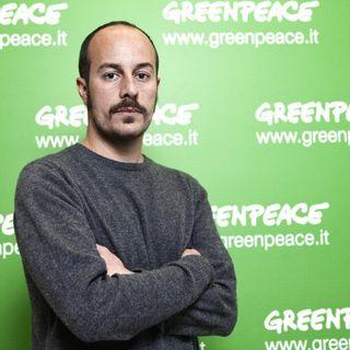 Andrea Boraschi, responsabile della Campagna Energia e Clima di Greenpeace