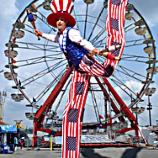 Charlie the Clown interview by Countyfairgrounds