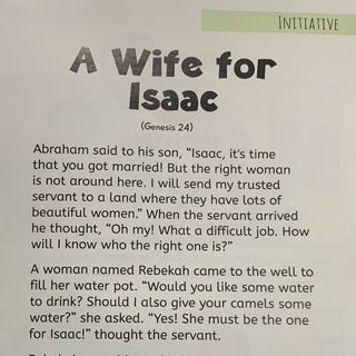 Episode 6 - A Wife For Isaac