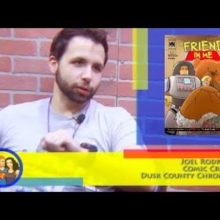Are You Ready For A Dark Toy Story? Comic Creator Joel Rodriguez on the Hangin With Web Show