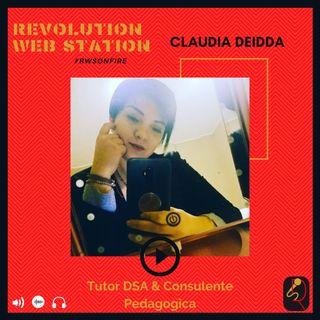 INTERVISTA CLAUDIA DEIDDA - TUTOR DSA & CONSULENTE PEDAGOGICA