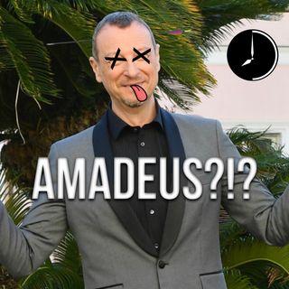 La testa di Amadeus e la paura di dire la cosa sbagliata