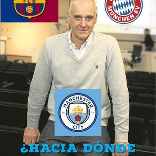 Martí Perarnau: Barça, Bayern, Manchester City y el futuro del fútbol
