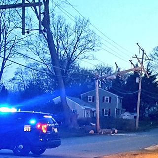 Strong Winds Cause Extensive Damage Across Parts Of Massachusetts