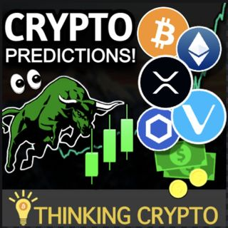 Crypto Price Predictions - Bitcoin $120K, Ethereum $12K, XRP $15, Chainlink $120