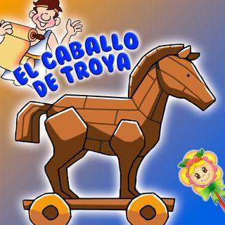 65. El caballo de Troya. Cuento mitologico griego adaptado por Hada de Fresa
