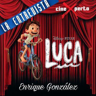 """CineXperto """"Luca"""" - Entrevista con Daniel Gonzales animador de Disney Pixar"""