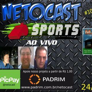 NETOCAST 1078 DE 24/10/2018 - ESPORTES