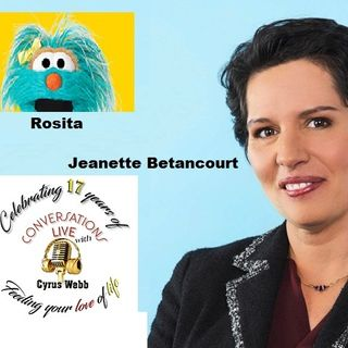 Jeanette Betancourt and Rosita from Sesame Street talk transitions in Health Care on #ConversationsLIVE ~ @SESAMESTREET @drbetancourtsst