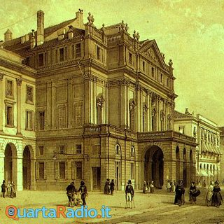 In piazza della Scala, di Giovanni Verga