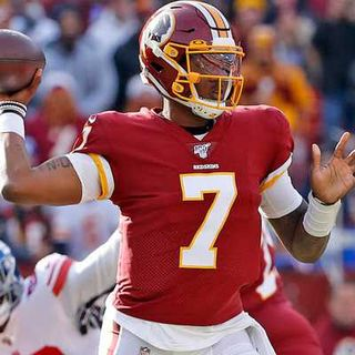 Dwayne Haskins Benched for The Washington Football Team