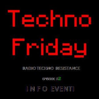 TECHNO FRIDAY + Techno Vinyls Selection and Info Techno Italian Parties