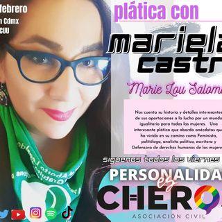 """Mariela Castro """"Marie Lou Salomé"""", Analista Politica, Activista, Defensora de DH de las mujeres."""