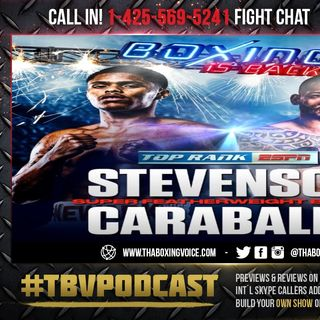 ☎️Shakur Stevenson vs. Felix Caraballo🔥 Live Fight Chat Boxing Is Back ❗️