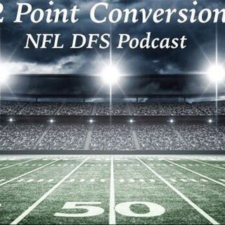 2 Point Conversion NFL DFS POD - Week 10