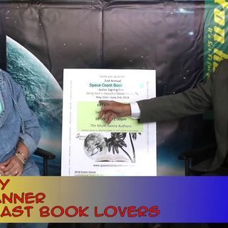 Rockets, Beaches and Books with SCBL OrganizerTeri Edney: interview on the Hangin With Web Show