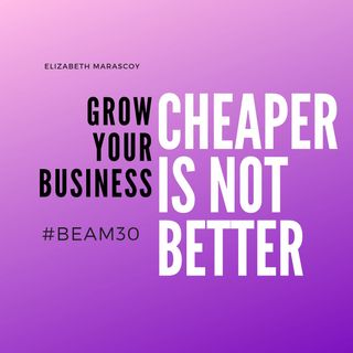 Cheaper Does Not Mean Better