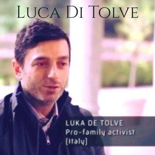 świadectwo Łuca era gay Luca Di Tolve testimony in Polish