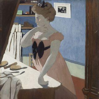 Musée d'Orsay #10 - Felix Vallotton, Portret Misi przy toaletce