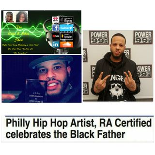 The Kevin & Nikee Show - Terrell RA Certified Elias - Philly Emcee, Actor and Father