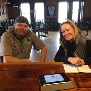 Mitten Brewing's Rob Wanhatalo w/ Gonzo and Amy