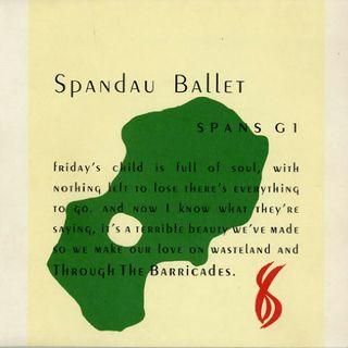Spandau Ballet THROUGH THE BARRICADES