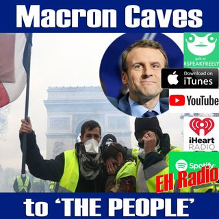 Morning moment France caves TO THE PEOPLE Dec 4 2018