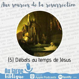 #208 Aux sources de la Résurrection (5) Débats au temps de Jésus