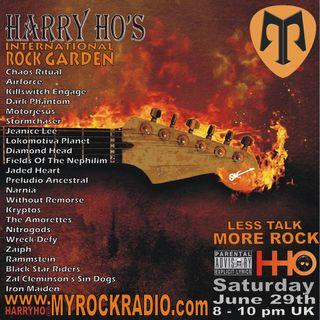 Harry Ho's intern. Rock Garden 29.06.2019