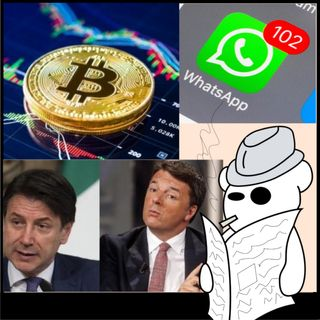 Renzi, Whatsapp e Bitcoin