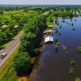 Inundaciones por alto nivel del río