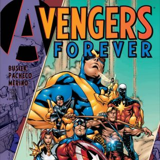 Source Material #219 - Avengers Forever (Marvel 1998)